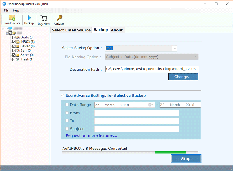 Comcast Mail Backup Tool – Download Comcast Mail Account in